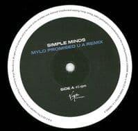 SIMPLE MINDS Mylo Promised U A Remix Vinyl Record 12 Inch Virgin 2013